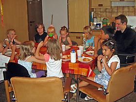 Impressionen der Familientafel_25